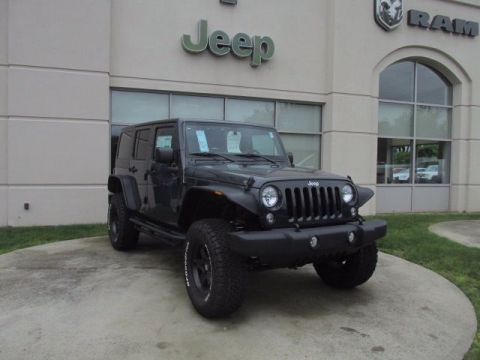 New 2017 Jeep Wrangler Unlimited Sport 4WD