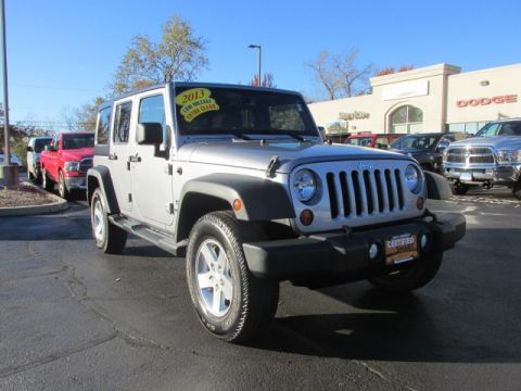 Certified Pre-Owned 2013 Jeep Wrangler Unlimited Sport