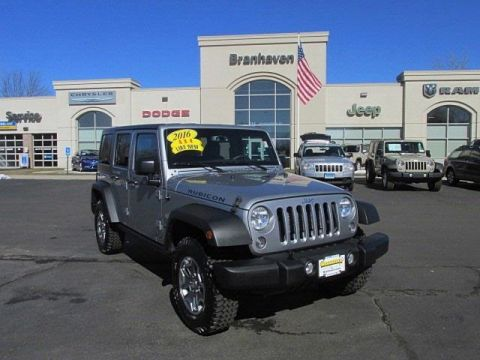 Certified Pre-Owned 2016 Jeep Wrangler Unlimited Rubicon 4WD