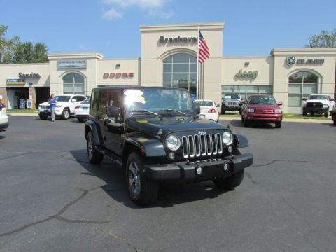 CERTIFIED 2016 JEEP WRANGLER UNLIMITED SAHARA 4WD