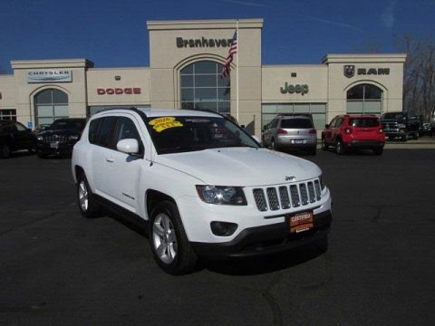 Certified Pre-Owned 2016 Jeep Compass Latitude 4WD