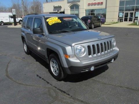 Certified Pre-Owned 2015 Jeep Patriot Sport FWD 4D Sport Utility