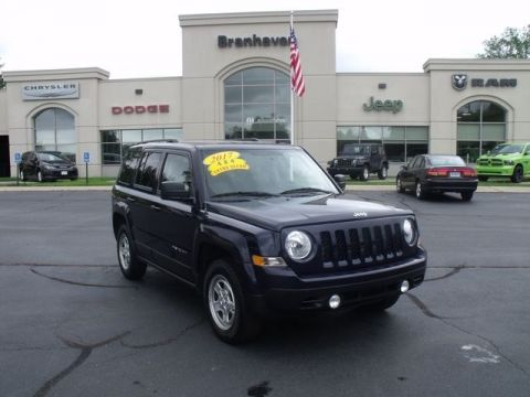 Certified Pre-Owned 2017 Jeep Patriot Sport 4WD