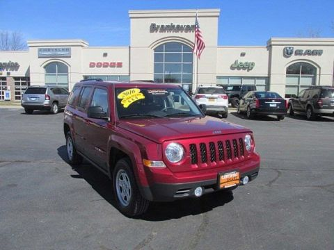 Certified Pre-Owned 2016 Jeep Patriot Sport 4WD