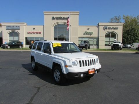 CERTIFIED 2017 JEEP PATRIOT SPORT 4WD