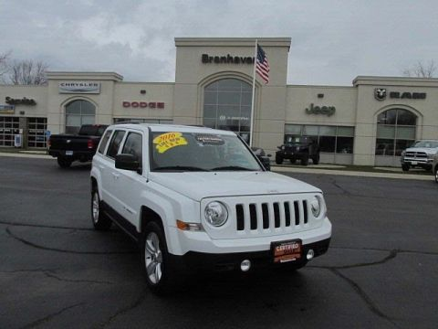 Certified Pre-Owned 2016 Jeep Patriot Latitude 4WD