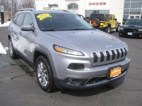 CERTIFIED 2018 JEEP CHEROKEE LIMITED 4WD