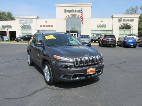 Certified 2017 Jeep Cherokee Limited 4WD