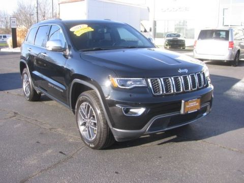 CERTIFIED 2017 JEEP GRAND CHEROKEE LIMITED 4WD