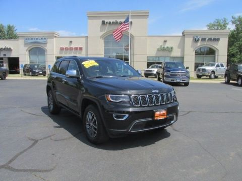 Certified Pre-Owned 2017 Jeep Grand Cherokee Limited 4WD