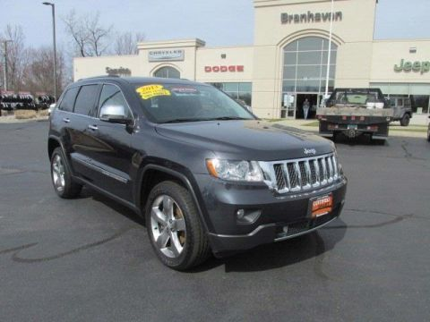Certified Pre-Owned 2013 Jeep Grand Cherokee Overland 4WD