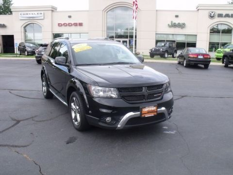 Certified Pre-Owned 2017 Dodge Journey Crossroad AWD
