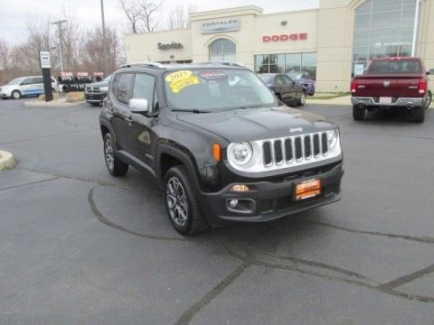 Certified Pre-Owned 2015 Jeep Renegade Limited 4WD